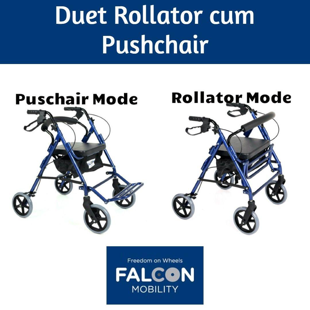 Duet Rollator / Transport Chair Scooter custom