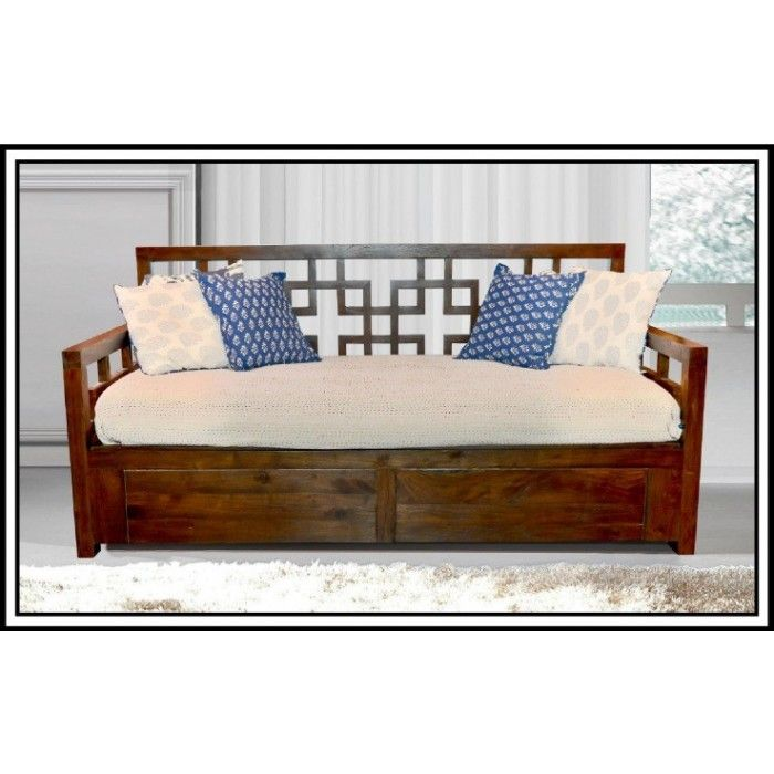 Solid Wooden Sofa cum bed designs 1 Sofa cum Beds Sofa cum bed