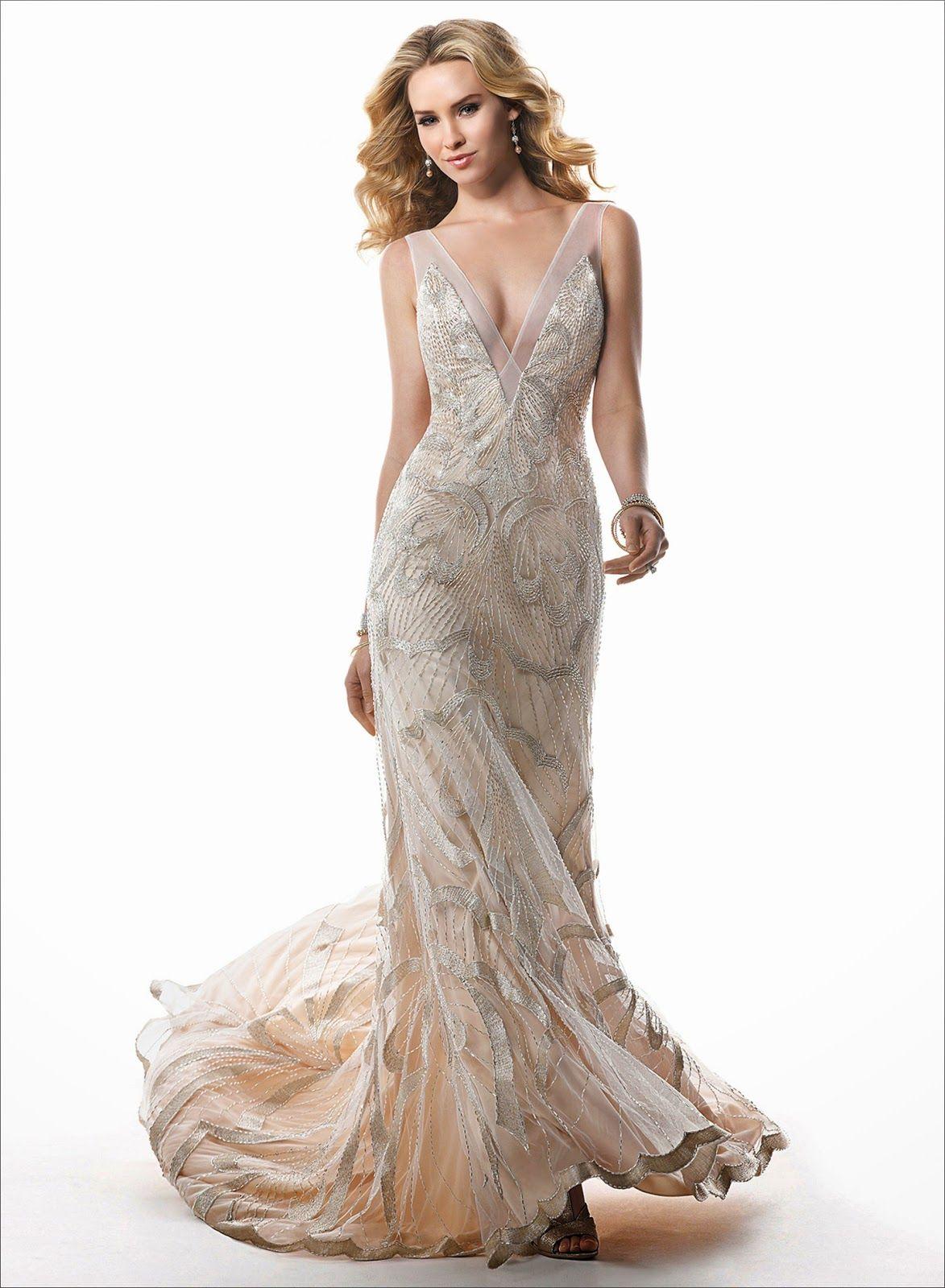1920 wedding dress  beaded  wedding dresses  Google Search  wedding  Pinterest
