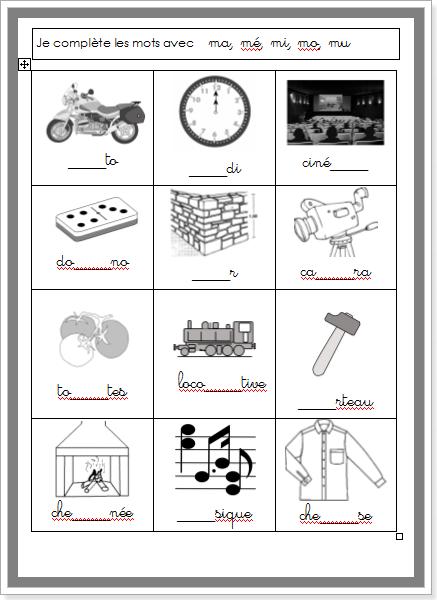 exercices d 39 criture de syllabes cole l mentaire pinterest syllabes criture et exercices. Black Bedroom Furniture Sets. Home Design Ideas
