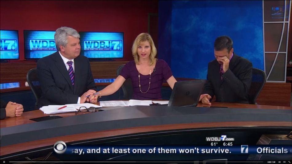 Virginia Tv News Crew Holds On Air Moment Of Silence For Slain