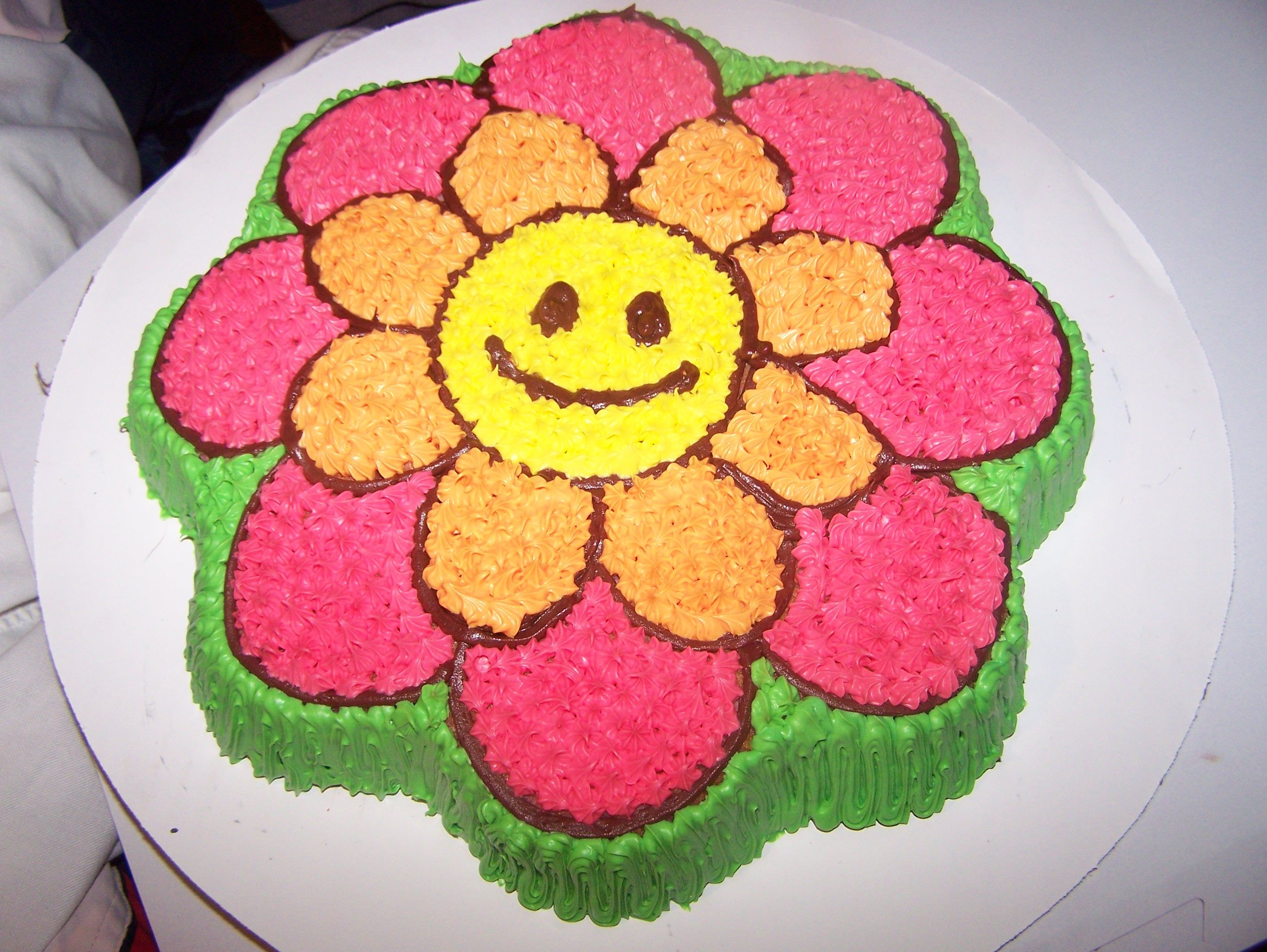 Flower Cakes Shaped Pam The Cake Lady