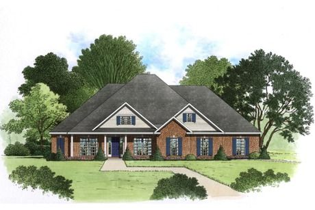 The Tucker II by Jeff Benton Homes at The Retreat at River Ridge