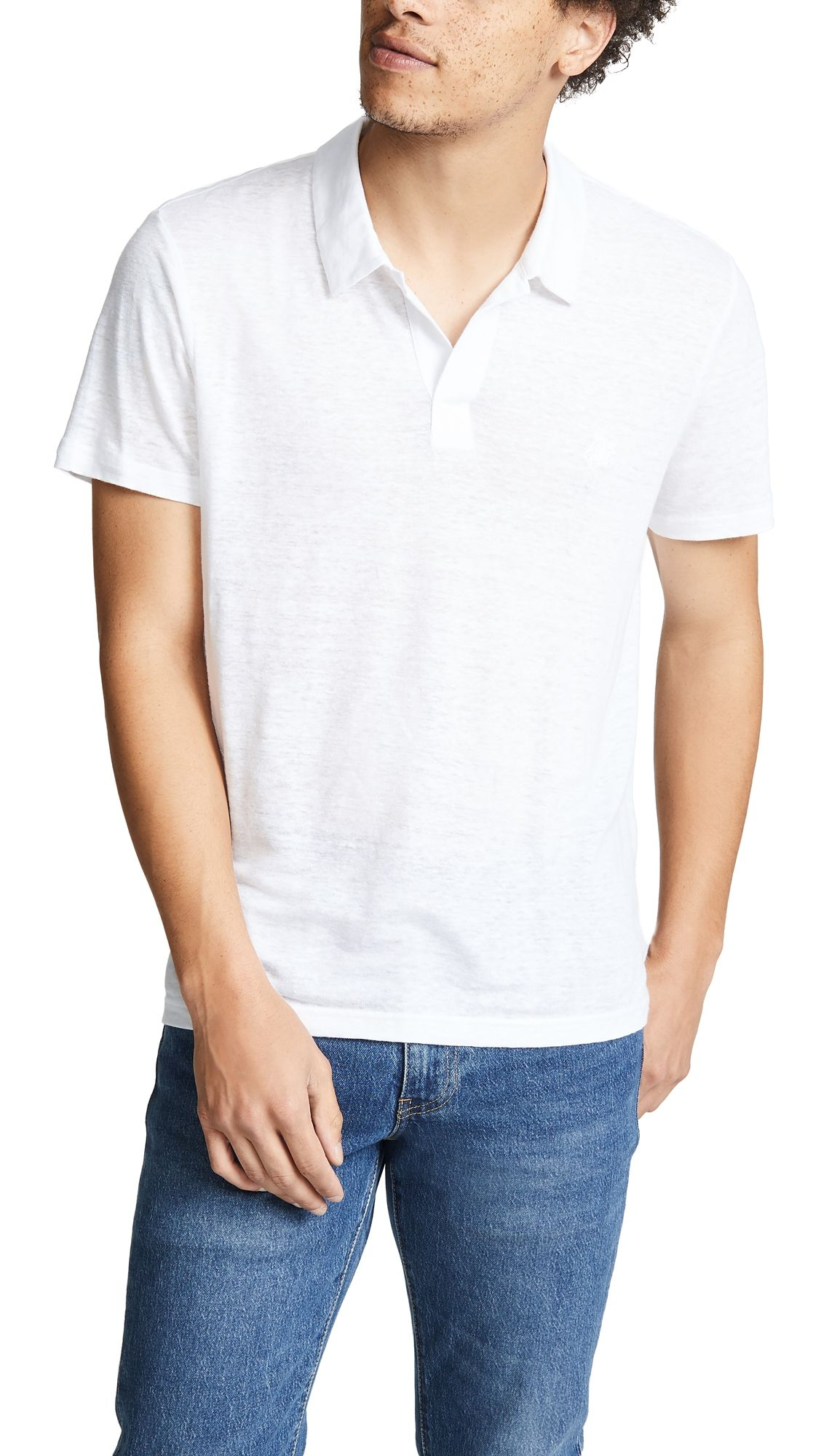 Vilebrequin Linen Pyramid Polo Shirt In White Modesens Polo Shirt Style Shirts Vilebrequin