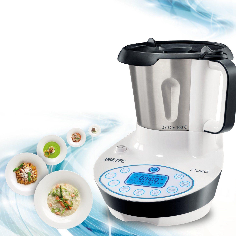 imetec cuk繝箚 cooking machine con ricettario no bimby robot da