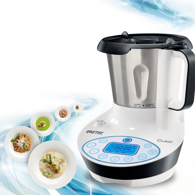 IMETEC Cukò - Cooking Machine con Ricettario - NO BIMBY - ROBOT da ...