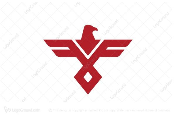 Exclusive Logo 24063 Letter F Eagle Logo