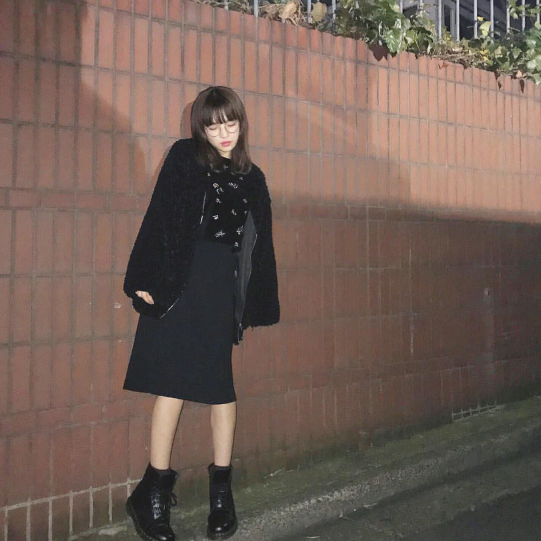 可愛い格好の田中芽衣