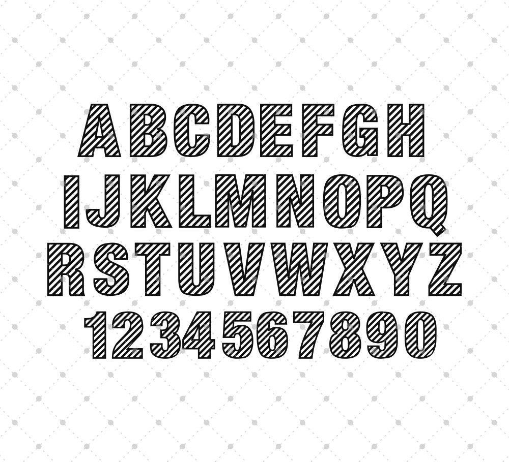 Pin on Fonts SVG