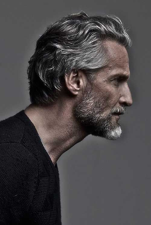 hairstyles for older men with wavy hair | Beloved Hairstyles for ...