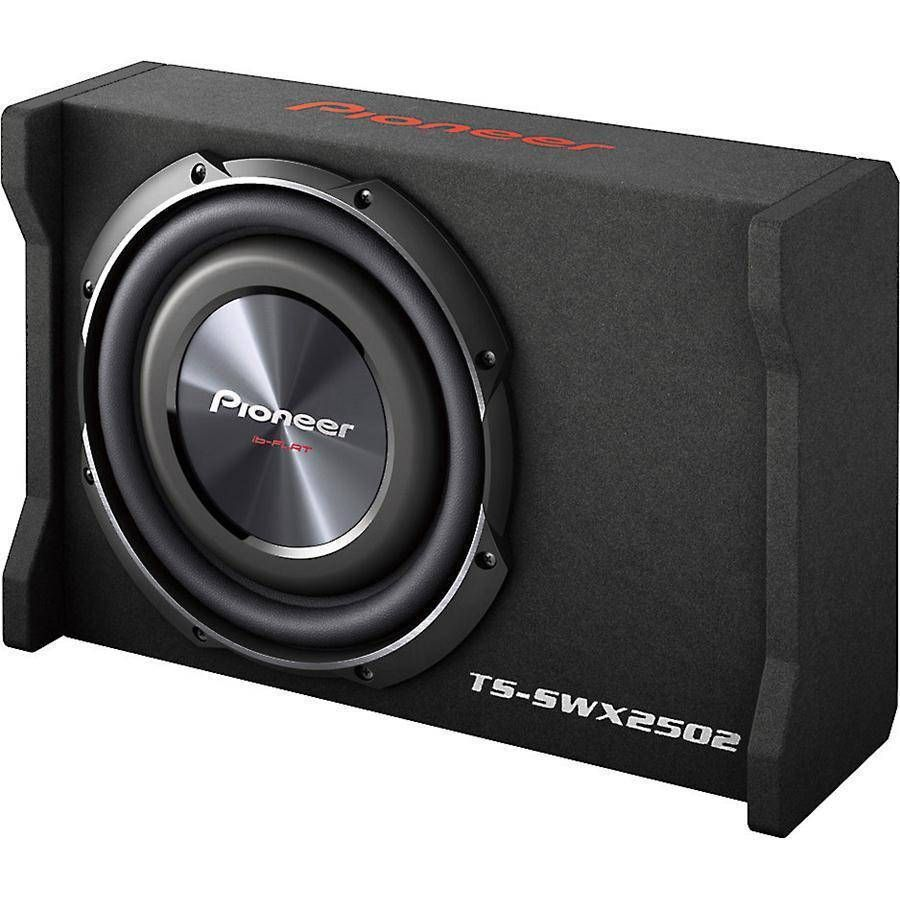 Pioneer Ts Swx2502 400 W 10 Subwoofer Sealed Loaded Enclosure  # Muebles Motorizados Edd