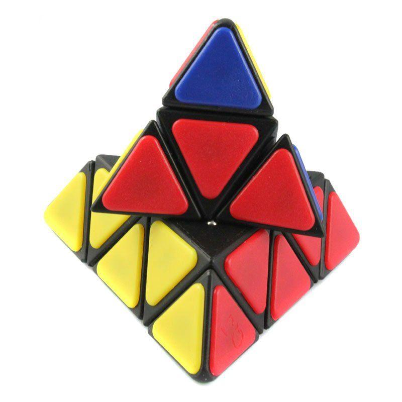 cubo mágico pirâmide - invertido