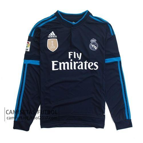 37e8ae24a3d41 Tercera camiseta de manga larga Real Madrid 2015 2016