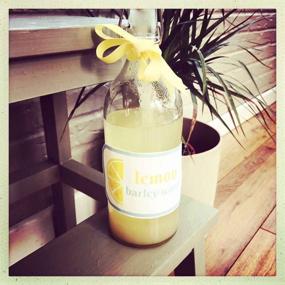 Homemade Lemon Barley Water Recipe Lemon barley water