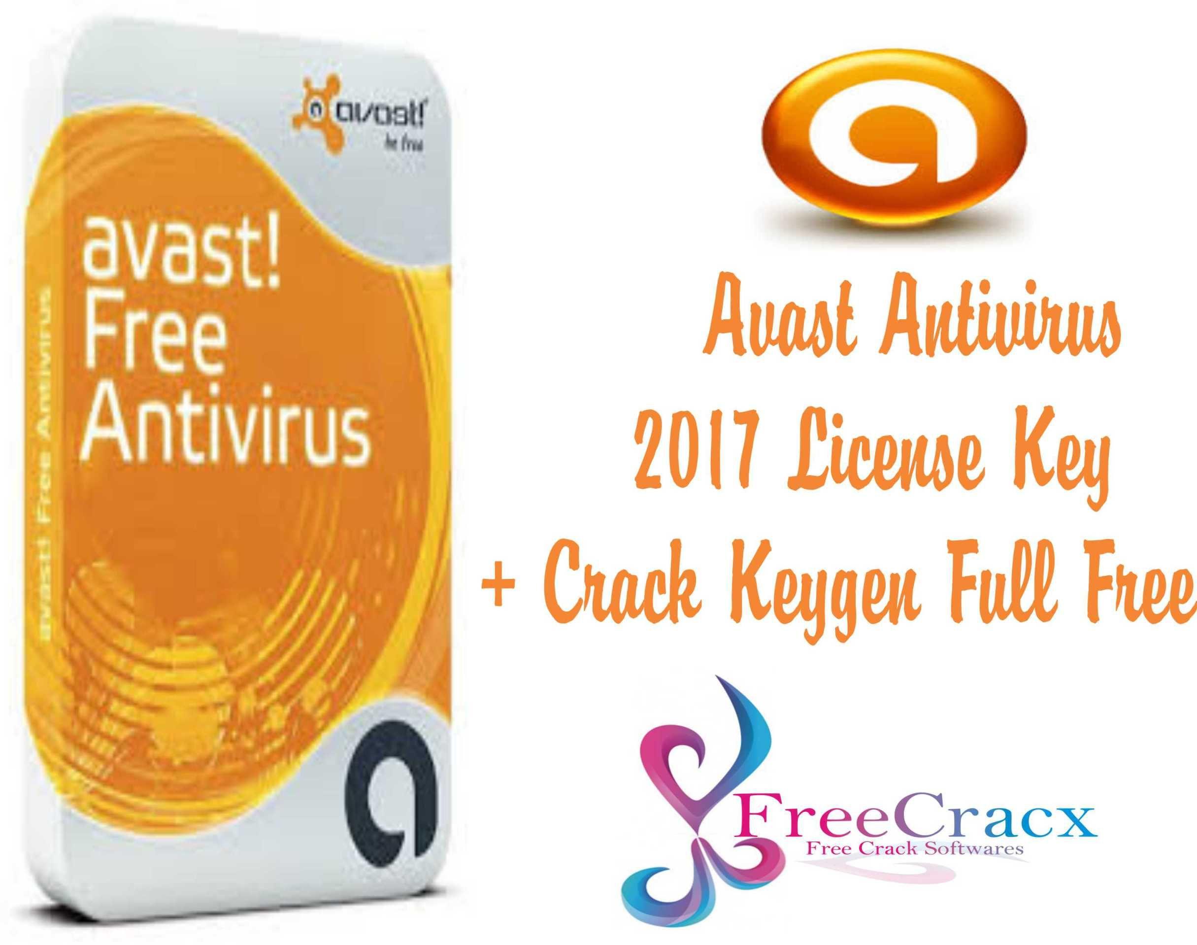 avast free antivirus 2017 product key