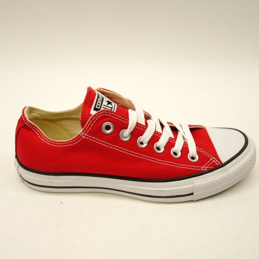 4999ffaa656f New Converse Womens Chuck Taylor Low Top Torchwood Red Shoes Size R 6.5 L 6   Converse  LaceUps
