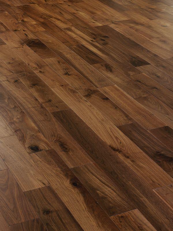 Mwf 607 Walnut Engineered Wood Flooring With Matt Lacquer Finish
