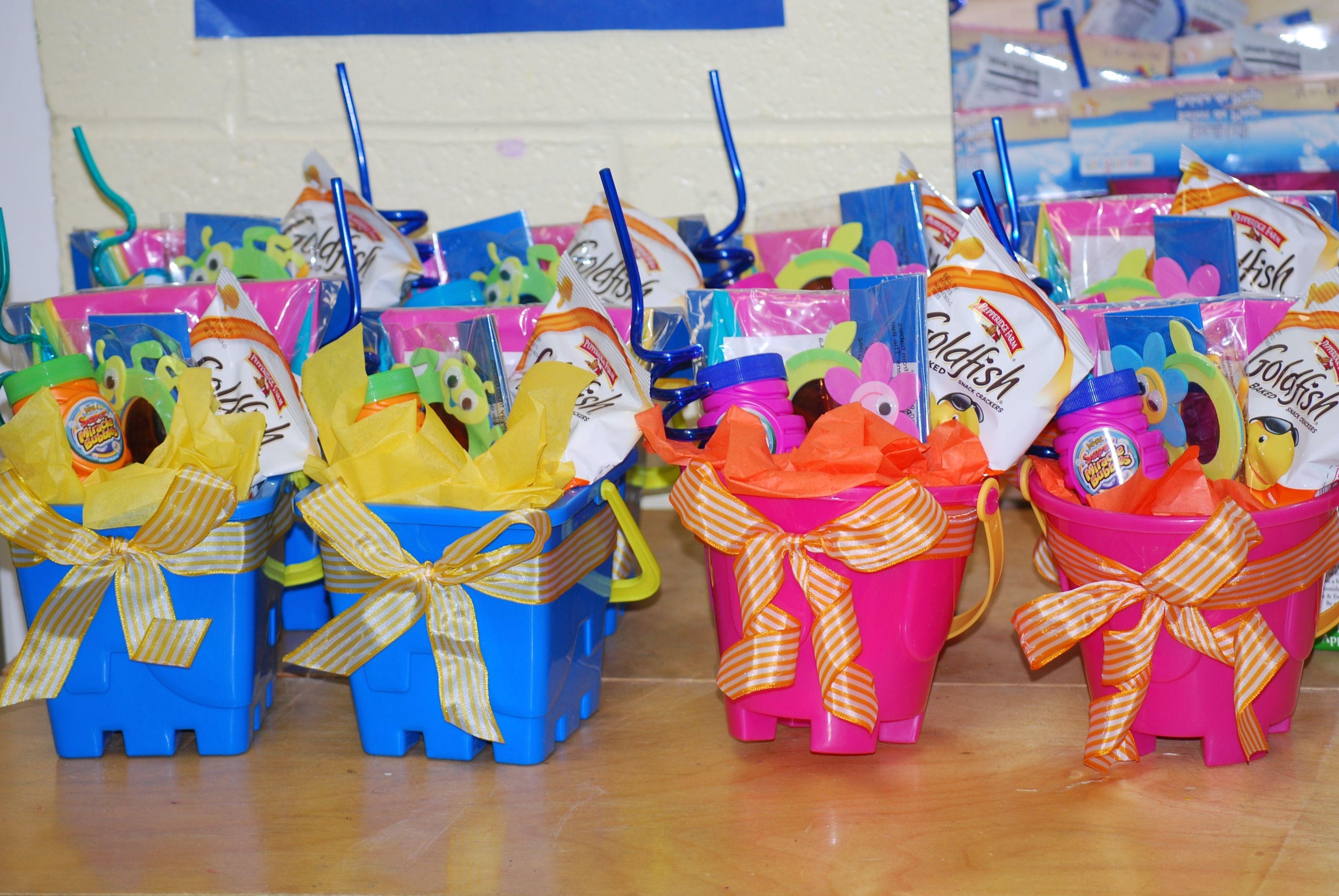 End Of The Year Nursery School Goody Bags