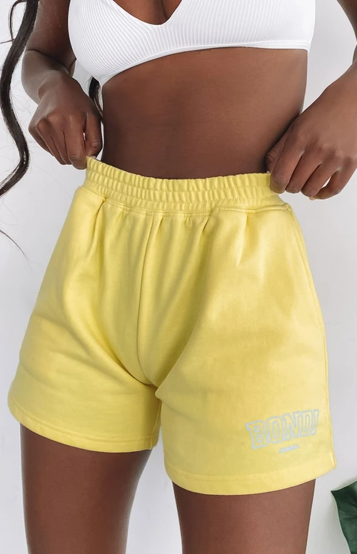 Bondi Shorts Yellow