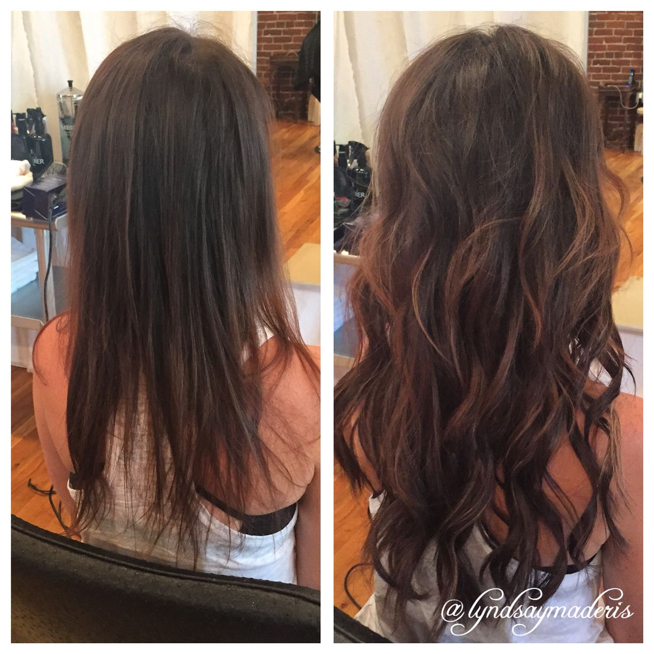 Hide Thin Hair With Great Lengths Hair Extensions By Lyndsay Maderis