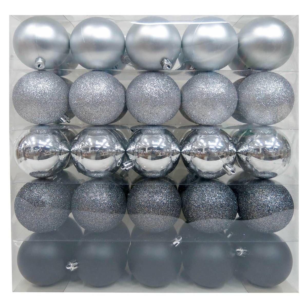 black ang grey glitter christmas ornaments target - Christmas Ornaments Target
