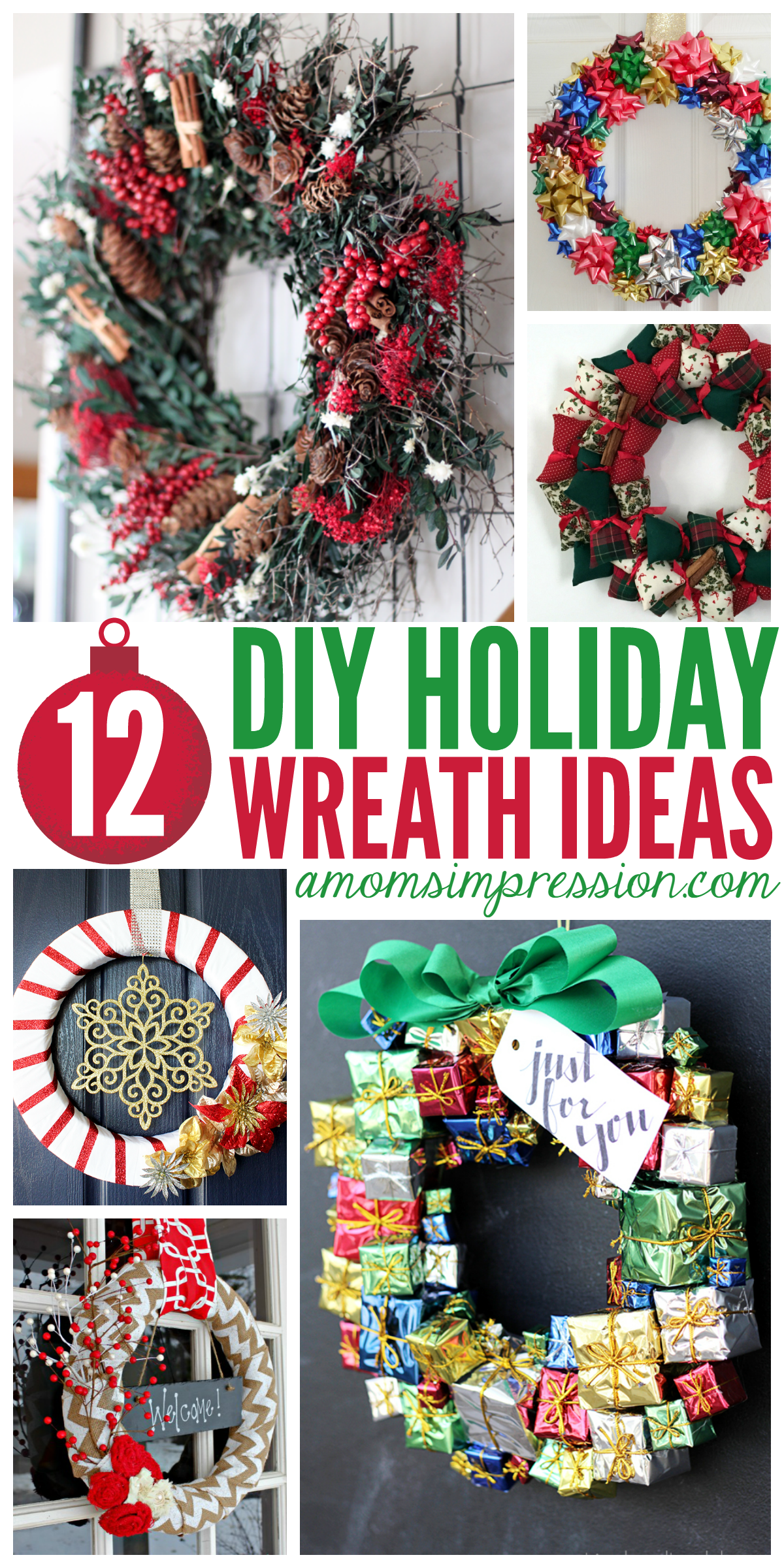 12 Diy Holiday Wreath Ideas These Christmas Crafts Are Easy To Make And Will Make Great Diy Ho Christmas Wreaths Diy Holiday Crafts For Kids Christmas Wreaths