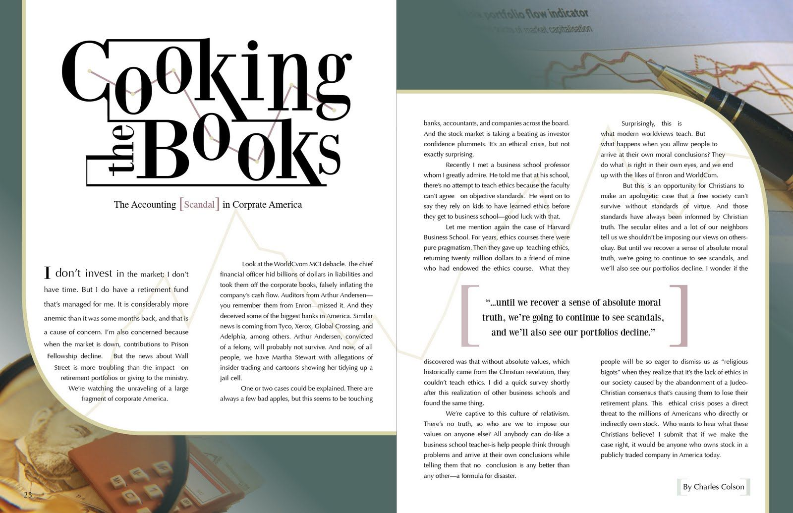 Musings of a chocolate lover cooking the books layout for Designs magazine