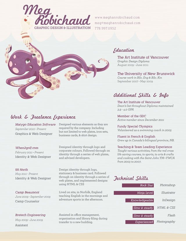 Most creative resumes Creative Resume Ideas Pinterest - most creative resumes