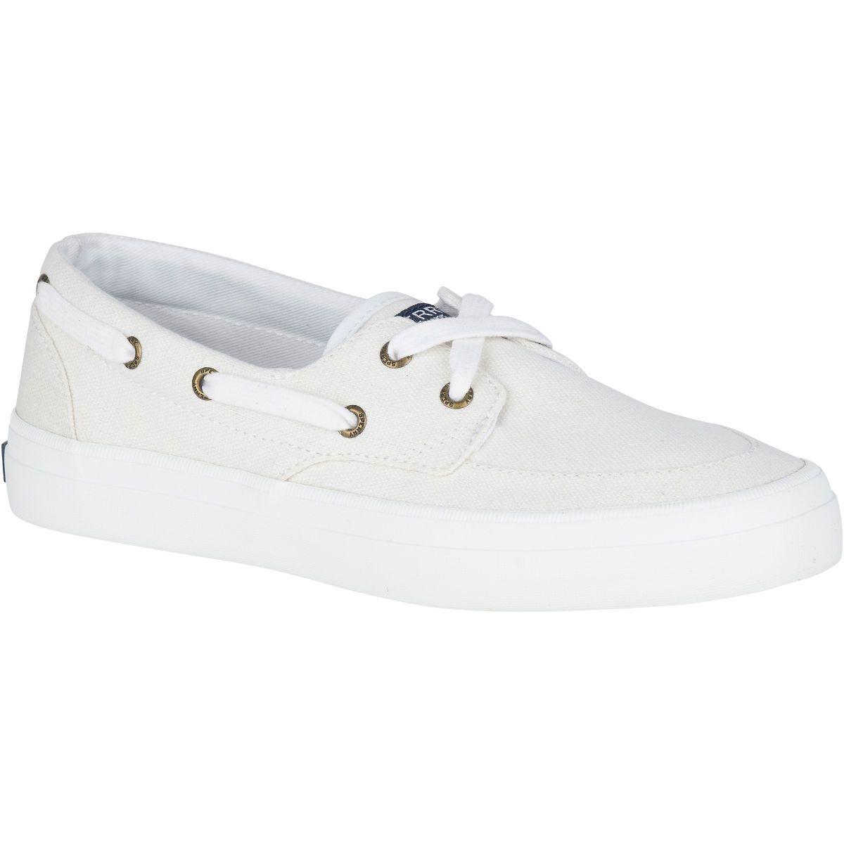 Women's Crest Boat Shoe | Boat shoes, Adidas shoes women