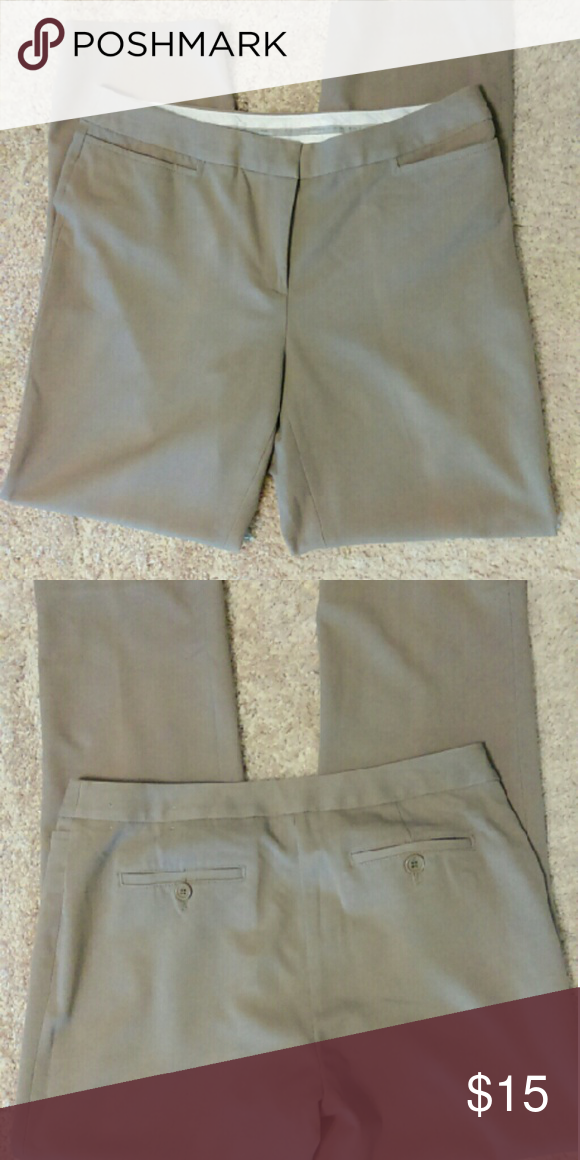 Liz Claiborne Dress Pant Liz Claiborne Audra Tan  Dress Pant Liz Claiborne Pants Trousers