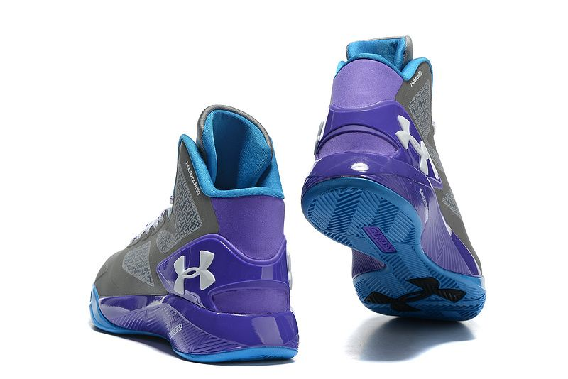 9610db567027 Woman s Under Armour UA ClutchFit Drive 2 Basketball Shoes Grey Purple