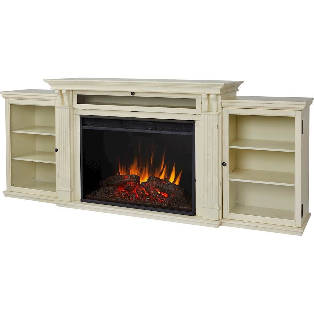 Best Buy Real Flame Tracey Grand Electric Fireplace Distressed White 8720e Dsw Electric Fireplace Tv Stand Fireplace Entertainment Fireplace Entertainment Center