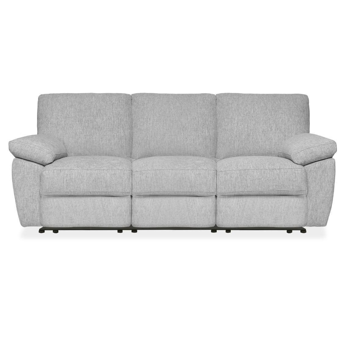 Lucas 3 Seat Fabric Manual Recliner Sofa Silverstreak With Images Reclining Sofa Manual Recliner Sofa Sofa