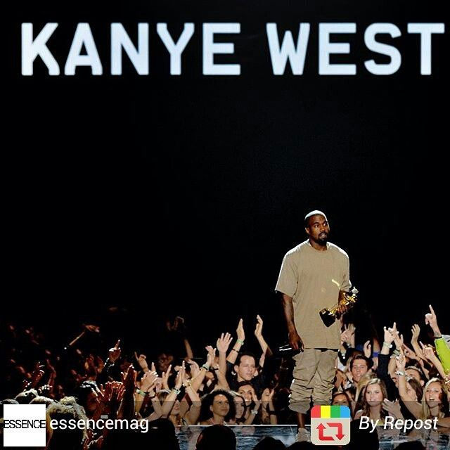 #Kanye Took Home The #MTV #VMAs Vanguard Award And Left