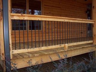 Log Home Porch Railing Yahoo Image Search Results House Plans Pinterest Porch Railings
