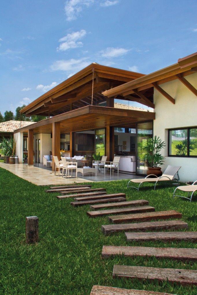 HORIZONTE ABERTO home and design Pinterest Casas, De campo y Campo
