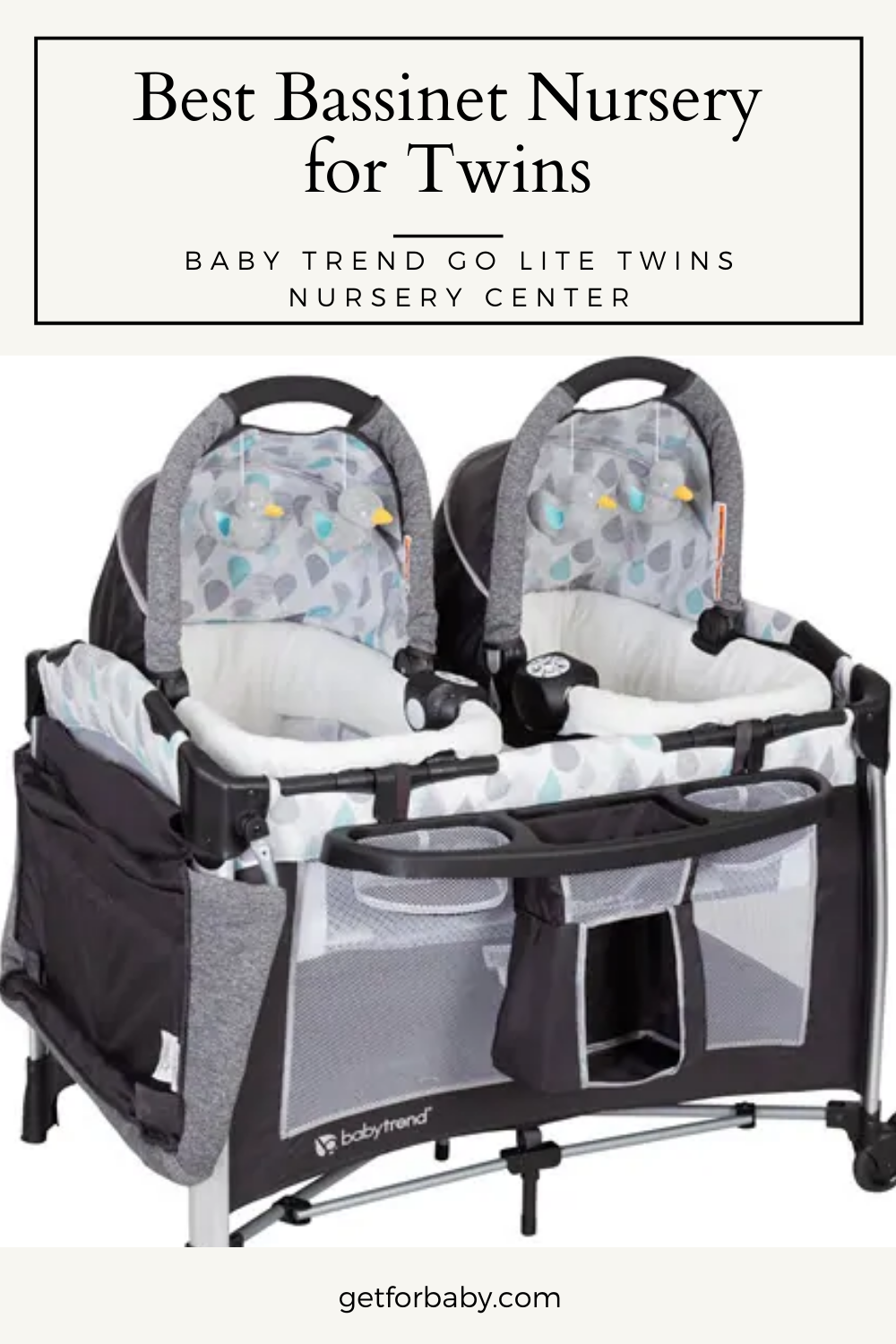 Baby Trend Pack N Play : trend, Trend, Twins, Nursery, Center, Twins,, Trend,, Bassinet