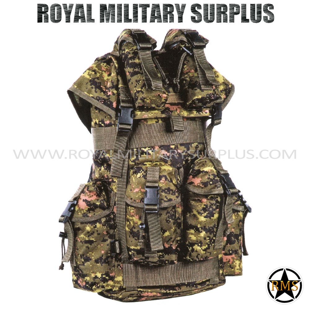 Tactical Vest - Heavy Infantry - CADPAT (Temperate ...
