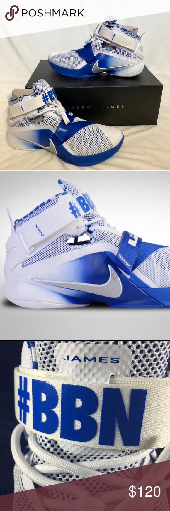 best website 114ed aa79b Nike Lebron Prime Soldier 9 Basketball Shoes 11.5 Brand new ...