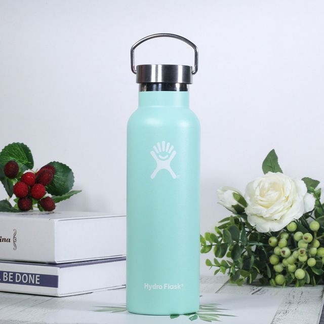 Hydro Flask Water Bottle with Stainless Steel Cap #hydroflask