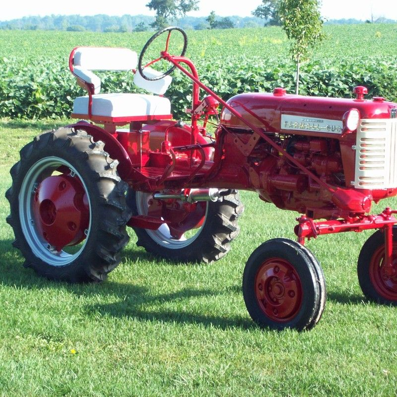 Do you think 1958 Farmall Cub deserves to win the Steiner