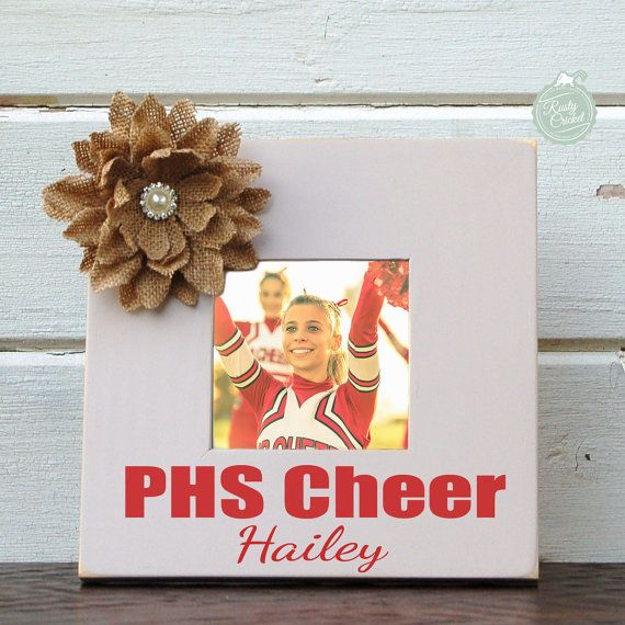 Personalized cheerleader frame personalized cheer by RustyCricket ...