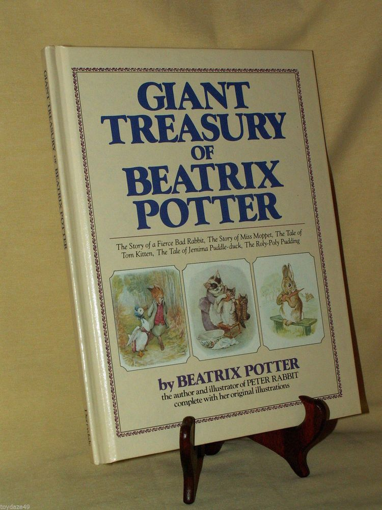 Giant treasury of beatrix potter derrydale book 1984 peter