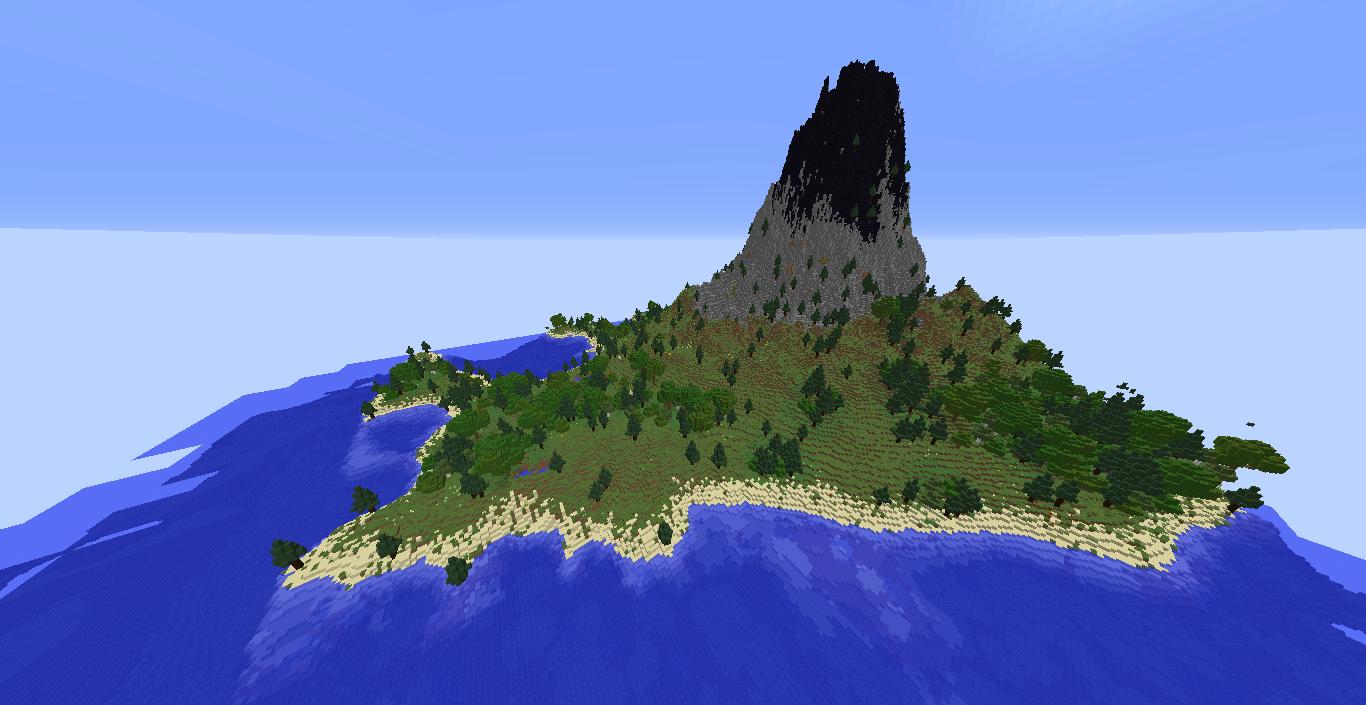Volcano Survival Island Map for Minecraft 1.12.2 | Minecraft ...