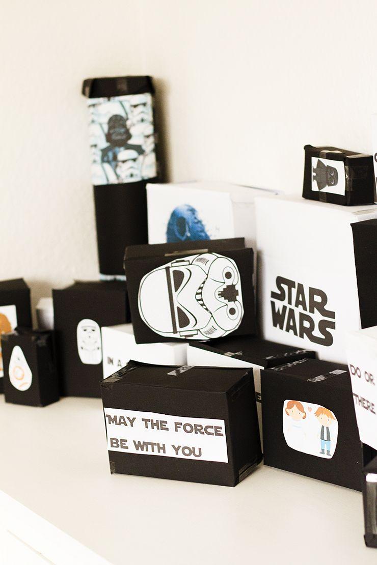 diy star wars adventskalender f r m nner f r diese einfache geschenkidee wird dich dein freund. Black Bedroom Furniture Sets. Home Design Ideas