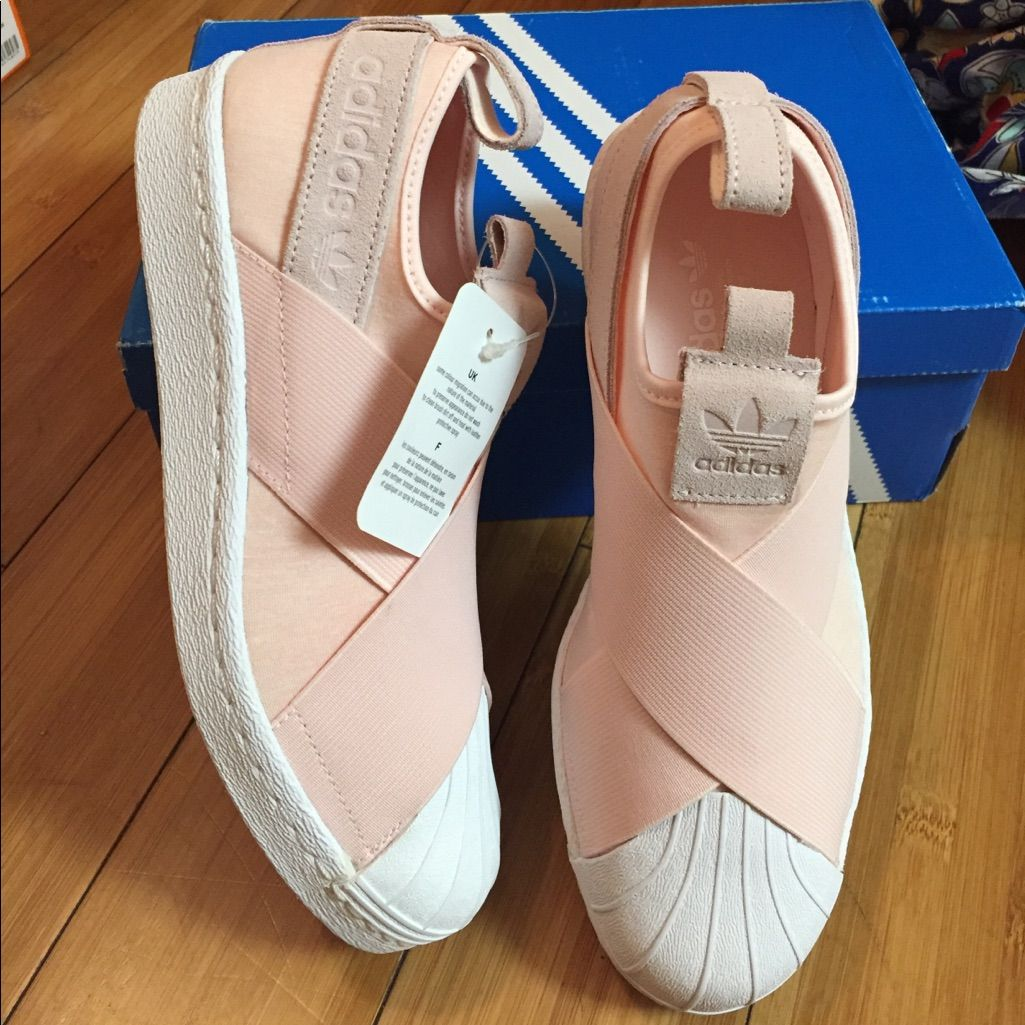 adidas Shoes | Adidas Superstar Slip On Baby Pink | Color