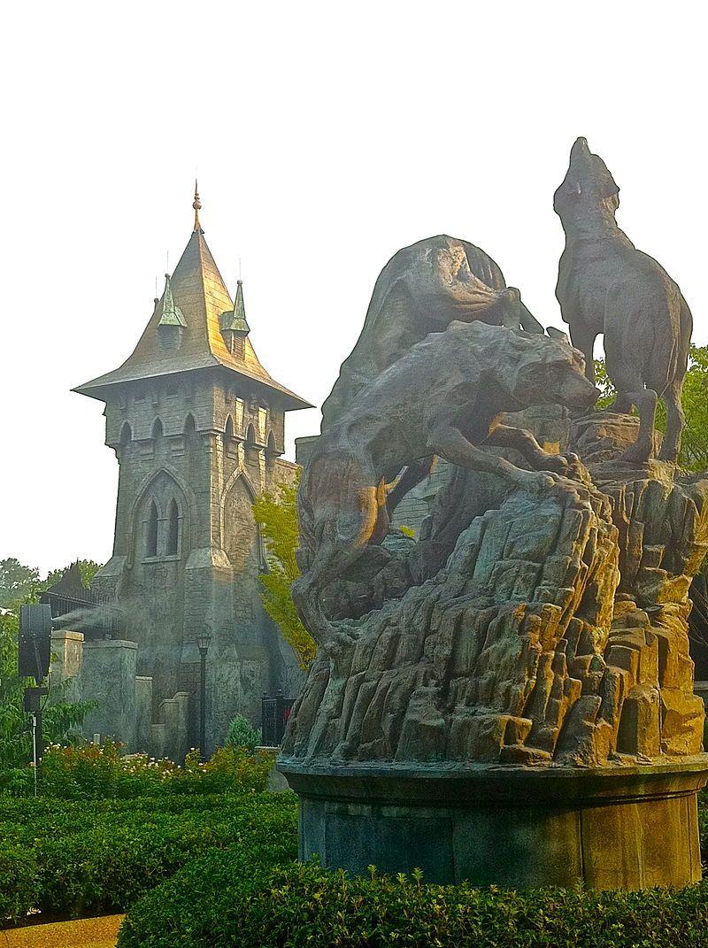 Curse Of Darkastle Busch Gardens Williamsburg