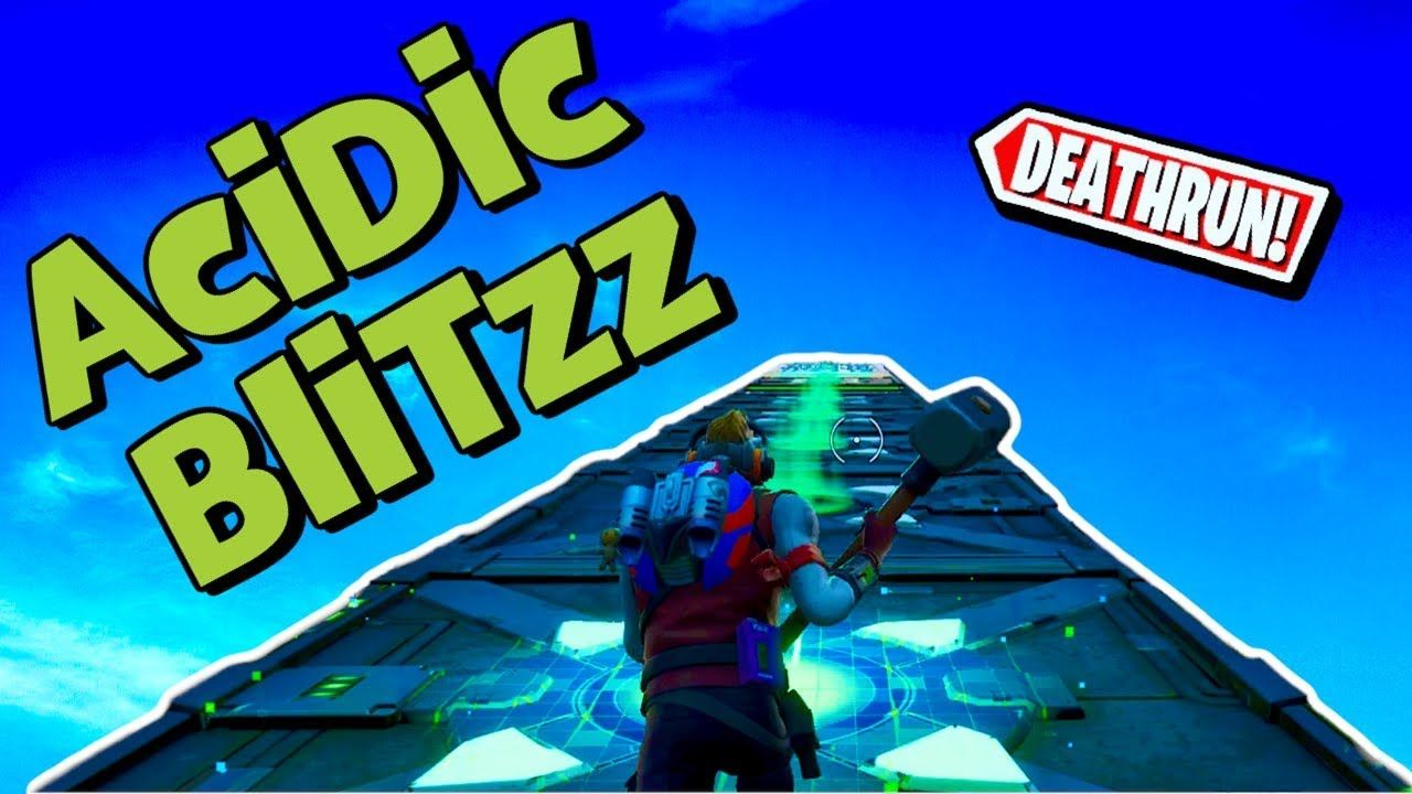 Acidic Blitzz Fortnite Deathrun Easy Fortnite Creative