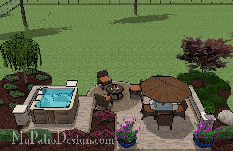 Hot Tub Patio Design Patio Designs And Ideas Hot Tub Patio Hot Tub Backyard Hot Tub