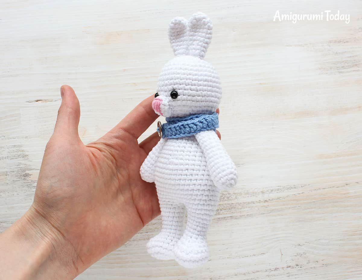 Cuddle Me Bunny amigurumi pattern | Patrón gratis | Pinterest ...